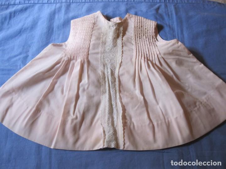 ANTIGUO VESTIDO DE NIÑA DE COLOR VERDE - TALLA 0 (Antigüedades - Moda y Complementos - Infantil)