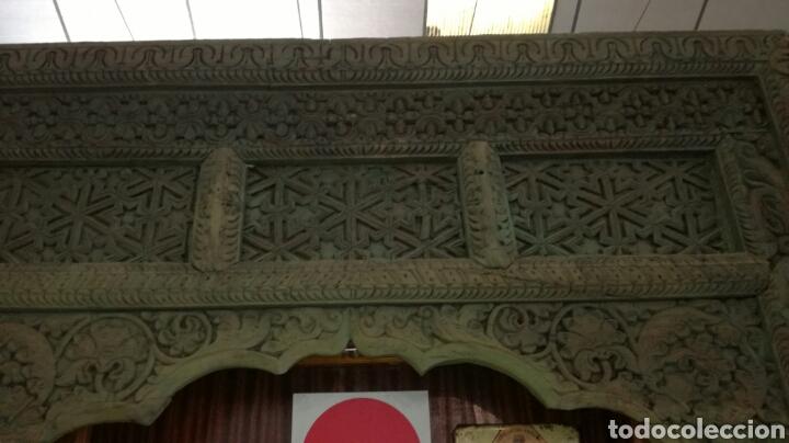 Antigüedades: Arcada de madera tallada - Foto 2 - 161474029