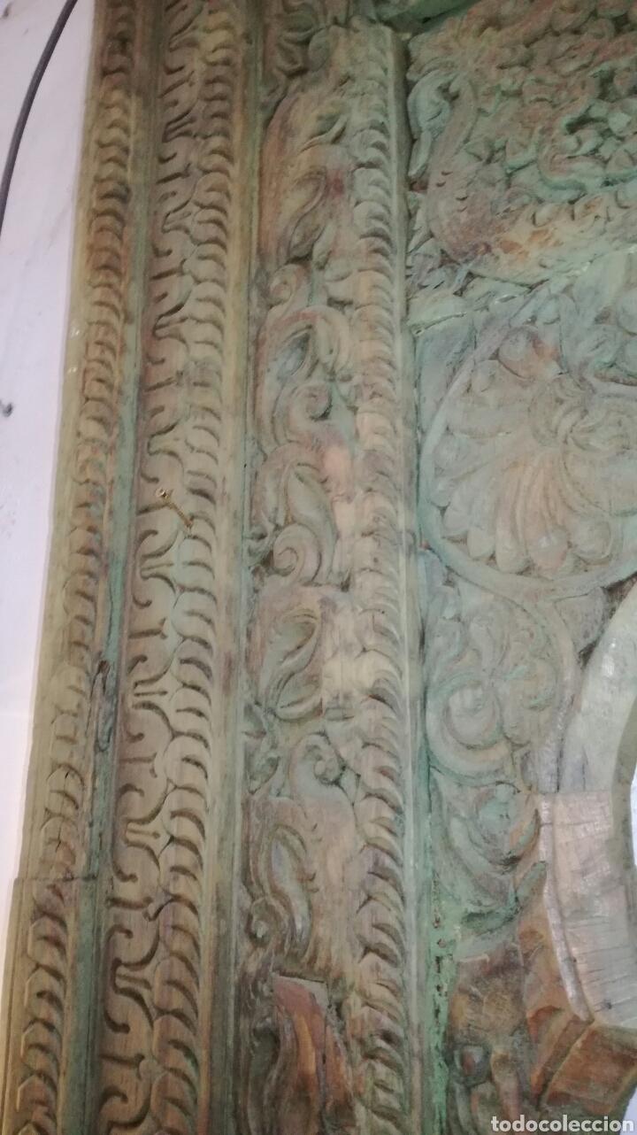 Antigüedades: Arcada de madera tallada - Foto 5 - 161474029