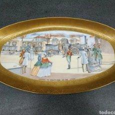 Antigüedades: BANDEJA PORCELANA ARZBERG. Lote 161504245