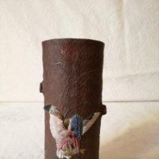 Antigüedades: JARRON ANTIGUO JAPONES DE CERAMICA ESMALTADA. SIGLO XIX.. Lote 161530690