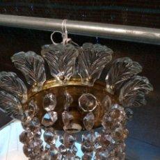 Antigüedades: ANTIGUA LAMPARA LÁGRIMAS. Lote 161540430