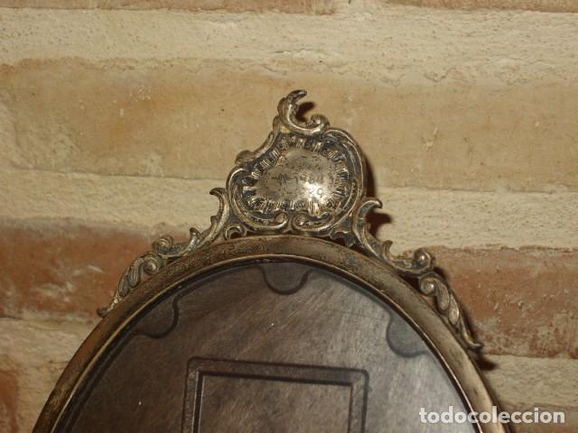 Antigüedades: ANTIGUO PORTAFOTOS DE PLATA MODERNISTA. - Foto 4 - 161554438