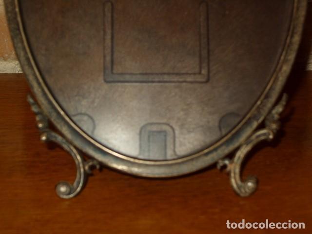 Antigüedades: ANTIGUO PORTAFOTOS DE PLATA MODERNISTA. - Foto 5 - 161554438