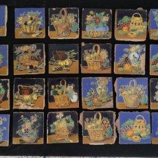 Antigüedades: EXCELENTE LOTE 31 ANTIGUOS AZULEJOS HIJO DE MENSAQUE TRIANA. Lote 161555845