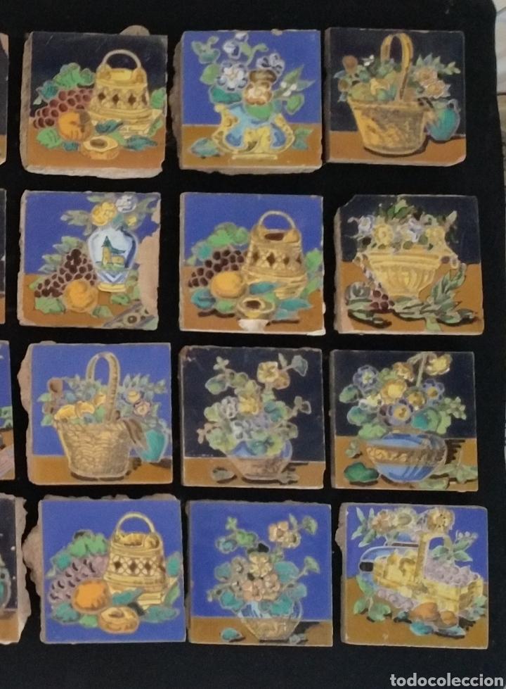 Antigüedades: Magnífico lote 31 azulejos Hijo de Mensaque Triana. Bodegones - Foto 2 - 161555845