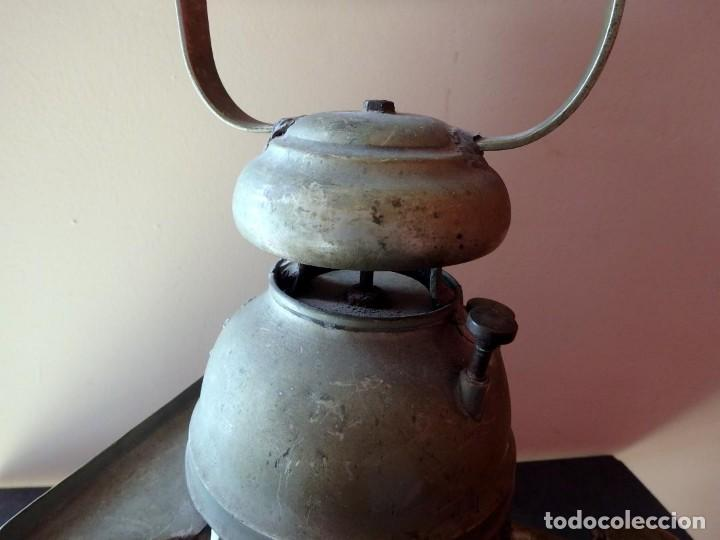 Antigüedades: (JX-190456)Antiguo farol , linterna de Sereno de Barcelona , Policía Nocturna , Vigilante . - Foto 5 - 161558026