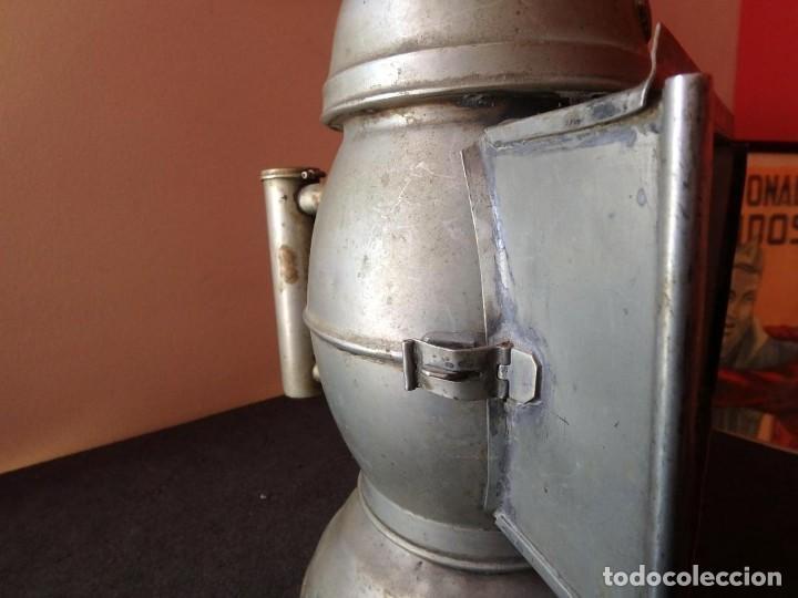 Antigüedades: (JX-190456)Antiguo farol , linterna de Sereno de Barcelona , Policía Nocturna , Vigilante . - Foto 11 - 161558026