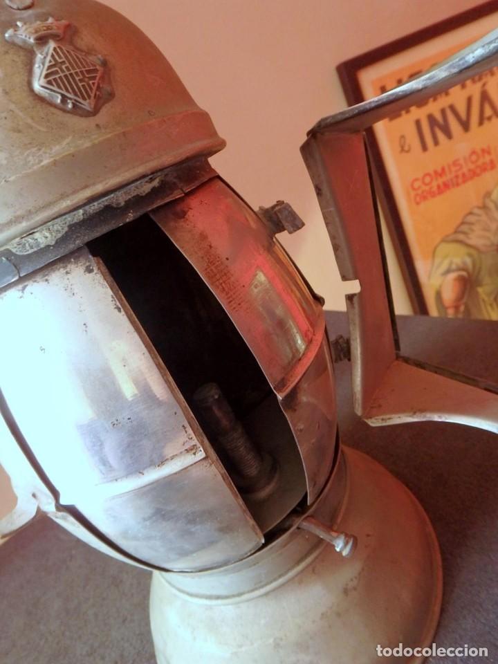 Antigüedades: (JX-190456)Antiguo farol , linterna de Sereno de Barcelona , Policía Nocturna , Vigilante . - Foto 12 - 161558026