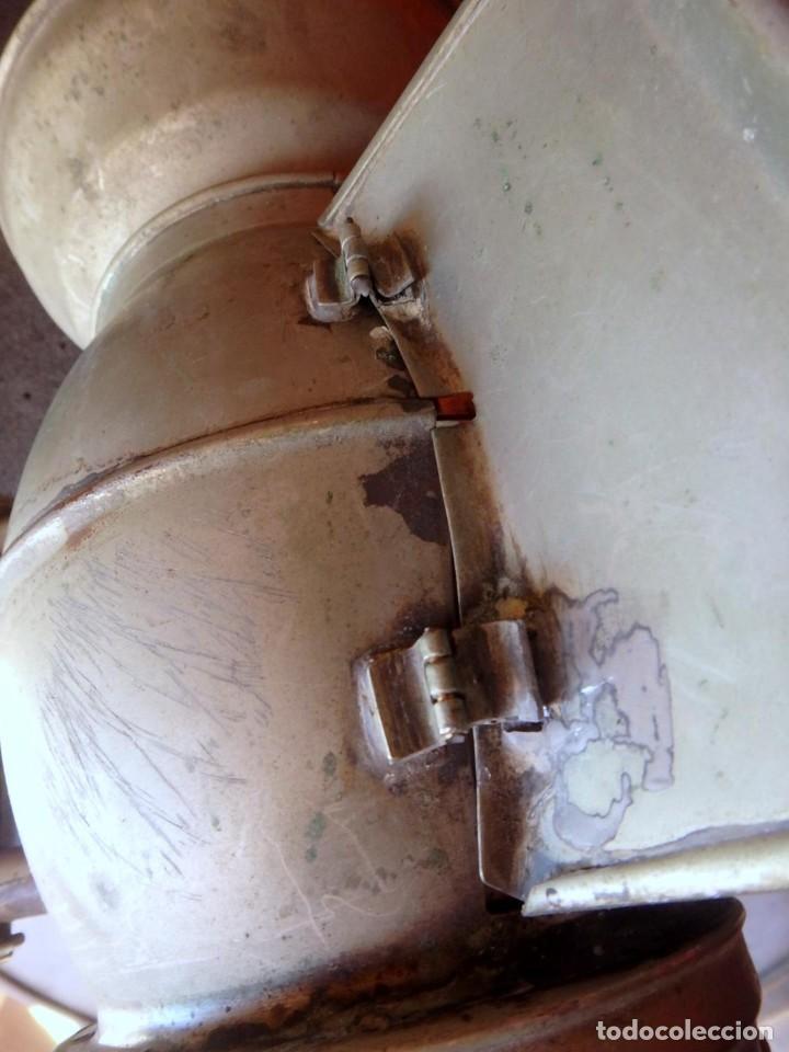 Antigüedades: (JX-190456)Antiguo farol , linterna de Sereno de Barcelona , Policía Nocturna , Vigilante . - Foto 13 - 161558026