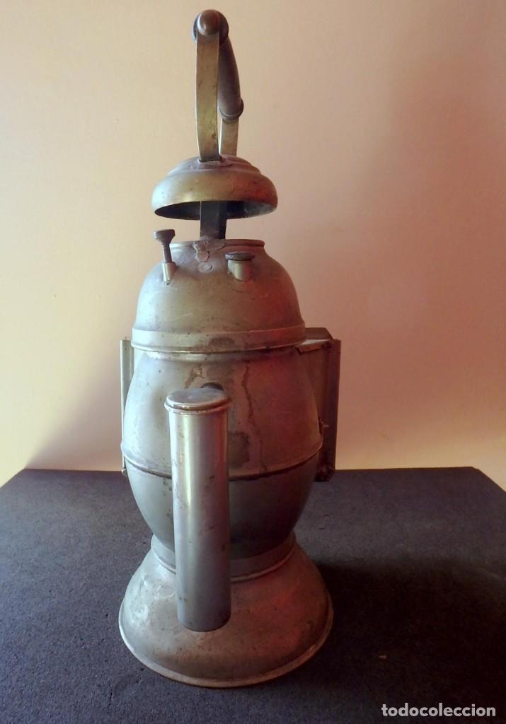 Antigüedades: (JX-190456)Antiguo farol , linterna de Sereno de Barcelona , Policía Nocturna , Vigilante . - Foto 16 - 161558026