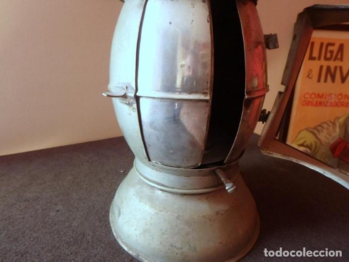Antigüedades: (JX-190456)Antiguo farol , linterna de Sereno de Barcelona , Policía Nocturna , Vigilante . - Foto 17 - 161558026