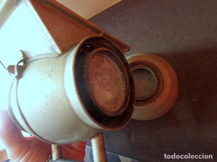 Antigüedades: (JX-190456)Antiguo farol , linterna de Sereno de Barcelona , Policía Nocturna , Vigilante . - Foto 19 - 161558026