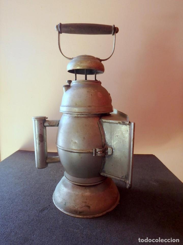 Antigüedades: (JX-190456)Antiguo farol , linterna de Sereno de Barcelona , Policía Nocturna , Vigilante . - Foto 20 - 161558026