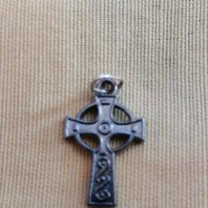 Antigüedades: CRUZ CELTA *** COLGANTE RELIGIÓN *** . Lote 161576470