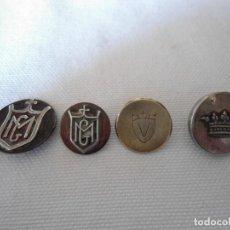 Antigüedades: LOTE ANTIGUOS BOTONES. Lote 161577314