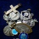 Antigüedades: LOTE DE MEDALLAS RELIGIOSAS VARIADAS. Lote 161597694
