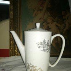 Antigüedades: CAFETERA SANTA CLARA MAH. Lote 161655682