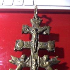 Antigüedades: CENTENARIA CRUZ DE CARAVACA ORIGINAL. Lote 161690590