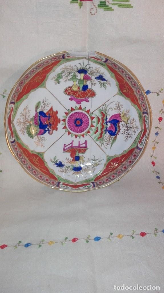 ANTIGUO Y PRECIOSO PLATO DE PORCELANA POSIBLEMENTE COMPAÑÍA DE INDIAS (Antigüedades - Porcelanas y Cerámicas - Inglesa, Bristol y Otros)