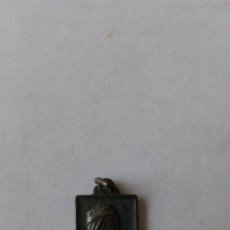 Antigüedades: VIRGEN DE MONTSERRAT DE PLATA . Lote 161778166
