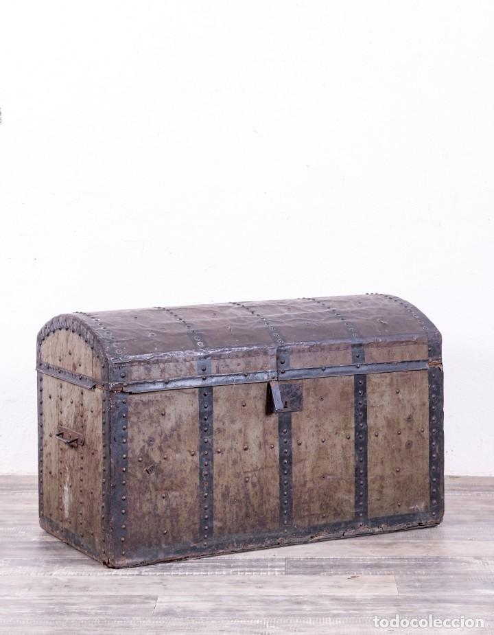 BAÚL ANTIGUO S.XX (Antigüedades - Muebles Antiguos - Baúles Antiguos)