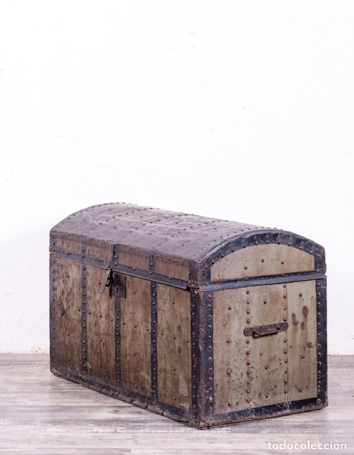 Antigüedades: Baúl Antiguo S.XX - Foto 3 - 161782018