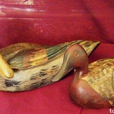 Antigüedades - Antiguos patos de madera. Francia siglo XIX. Utilizados reclamo de caza. - 161806422
