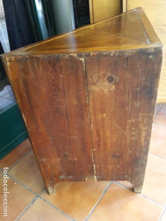 Antigüedades: Rinconera Carlos IV s XVIII - Foto 5 - 161816710