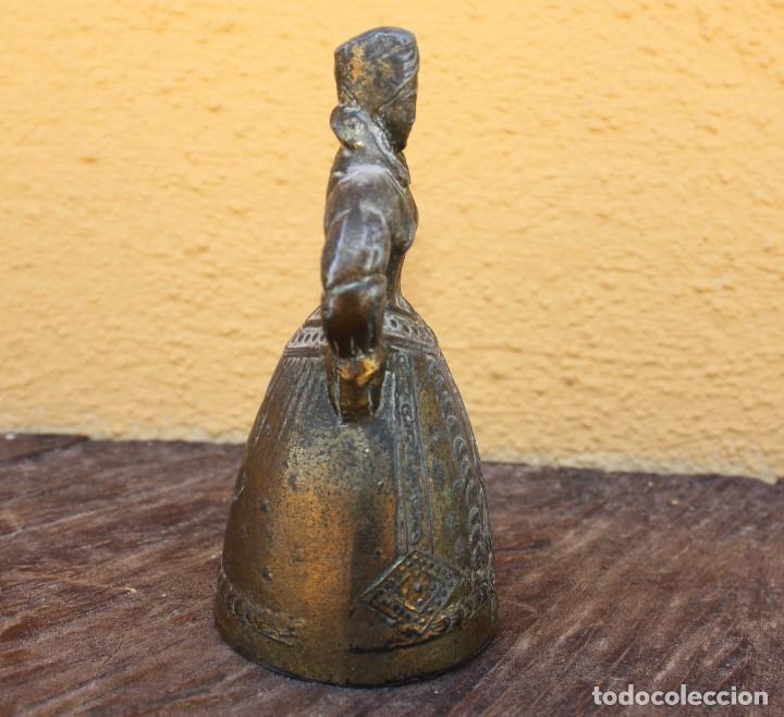 Antigüedades: Campana de dama, principios del siglo XX; única - Foto 4 - 161835146