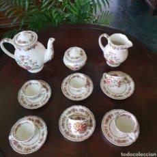 Antigüedades: JUEGO DE CAFE SAN CLAUDIO.. Lote 161843581