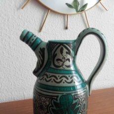 Antigüedades: GRAN JARRA DE PATERNA, BASADA EN CERAMICA S. XIII. Lote 161856124