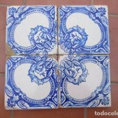 Antiquitäten - Azulejos pintados a mano siglo XIX - 161937398