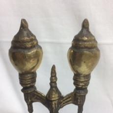 Antigüedades: ESCULTURA, RÉPLICA DE LA FAROLA DEL PASEO DEL MURO, GIJÓN. Lote 161937438