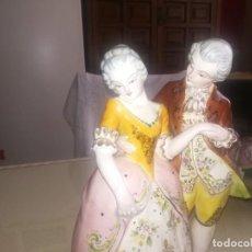 Antigüedades: ANTIGUA Y GRAN FIGURA PINTADA A MANO MARCA EN LA BASE Y NUMERADA MIREN FOTOS . Lote 161988286