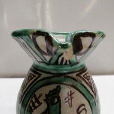 Antigüedades: JARRA DE CERÁMICA DE TERUEL. PUNTER R-6.12 CM.. Lote 161988882