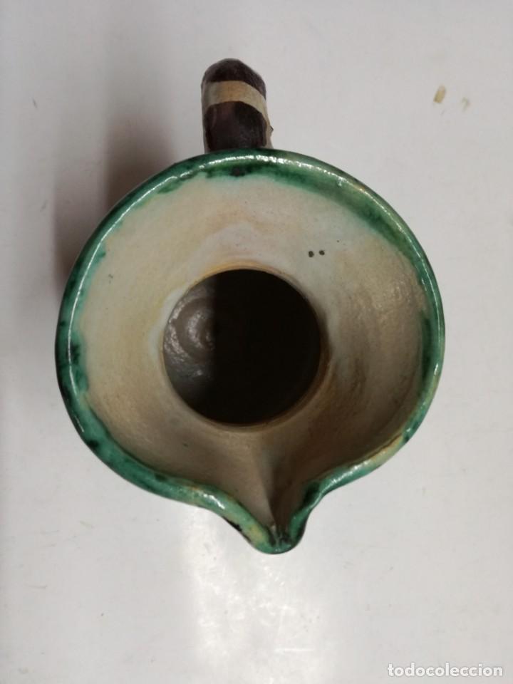 Antigüedades: JARRA DE CERÁMICA DE TERUEL. PUNTER R-6.12 CM. - Foto 5 - 161988882