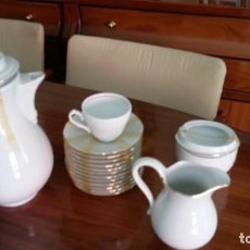 Antigüedades: JUEGO DE CAFÉ - BAVARIA TIRSCHENREUT. Lote 162014562
