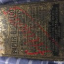 Antigüedades: CAJA MEDICAMENTO PAPIER RIGOLLOT. Lote 162082070