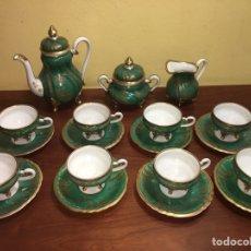 Antigüedades: JUEGO CAFE DE PORCELANA WEIMAR, ALEMANIA. PRINCIPIOS SIGLO XX.. Lote 162087978