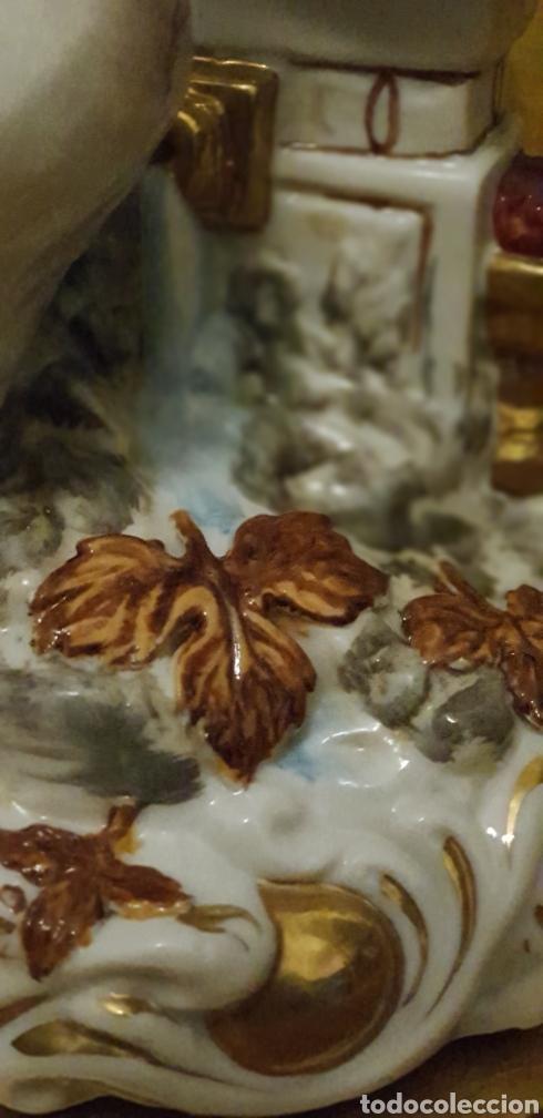Antigüedades: Angel angelito angelote de porcelana 24 cm de altura Algora o Hispania - Foto 10 - 162106753