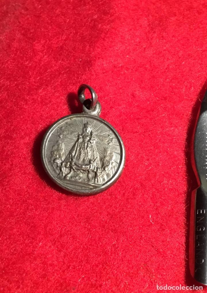 ANTIGUA MEDALLA (Antigüedades - Religiosas - Medallas Antiguas)