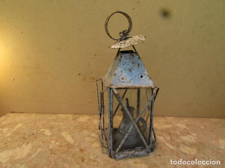 pet y lámpara en de aceite y mano Farol Vendido mesapara jA35L4Rq
