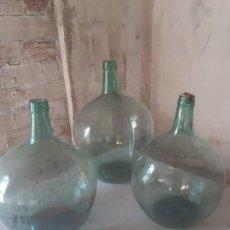 Antigüedades: DAMA JUANA BOTELLONES GARRAFAS. Lote 162143158