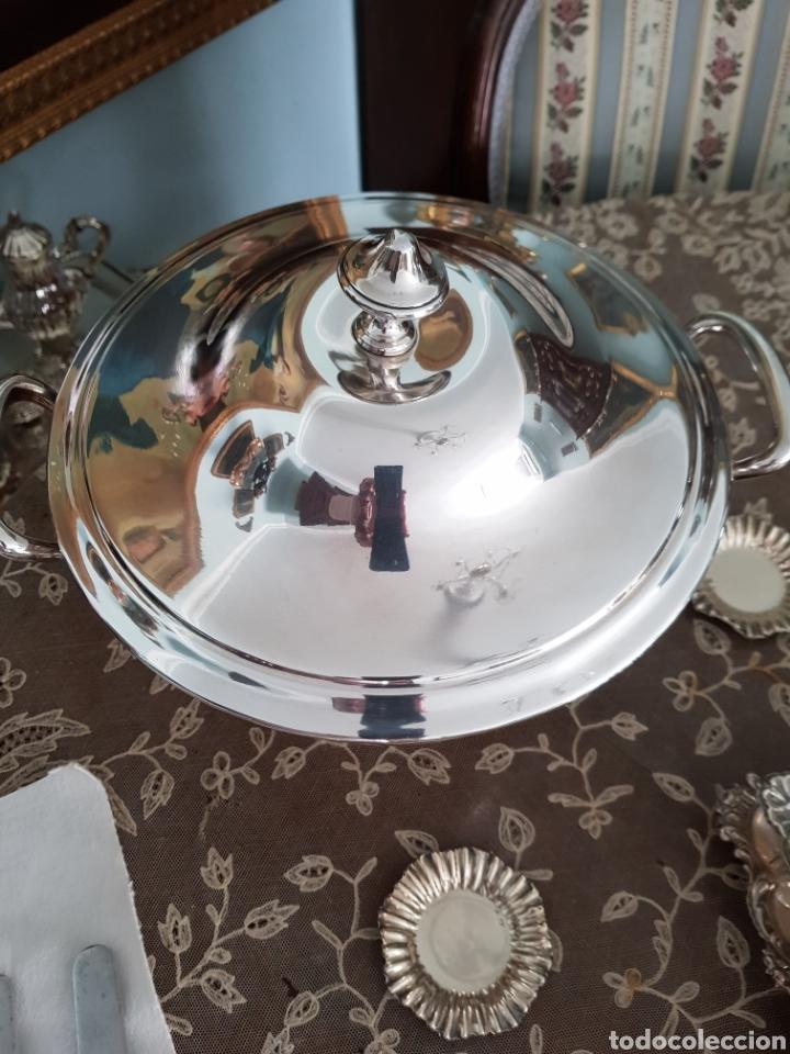 Antigüedades: Sopera plateada - Foto 2 - 162207582