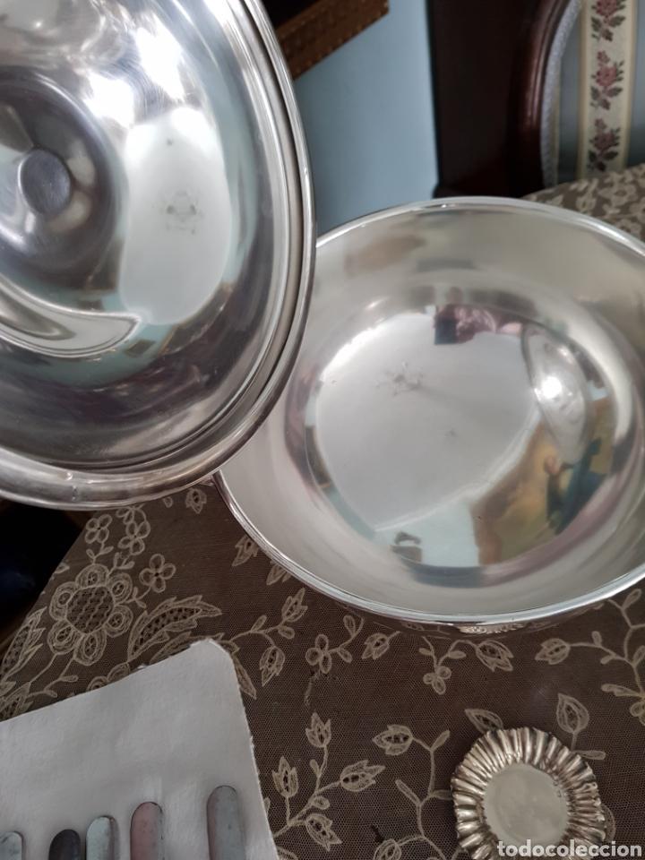 Antigüedades: Sopera plateada - Foto 3 - 162207582