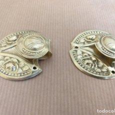 Antigüedades: ANTIGUA PAREJA DE ALZAPAÑOS, SUJETA CORTINAS. Lote 162240622