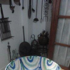 Antigüedades: ANTIGUO CUENCO.LEBRILLO.DORNILLO.CERAMICA POPULAR FAJALAUZA.GRANADA SIGLO XX. Lote 162303730