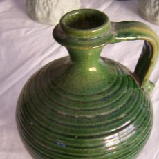 Antigüedades: JARRA DE CERÁMICA VIDRIADA. HNOS. ALAMEDA ÚBEDA.. Lote 162303806