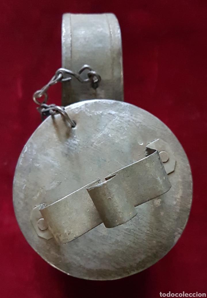Antigüedades: Arte de hojalatero lechera 2 litros - Foto 2 - 162317210